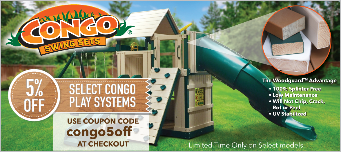 5% Off Congo Playsets