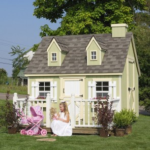 Cape Cod 6 x 8 Playhouse