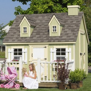 Cape Cod 8 x 8 Playhouse