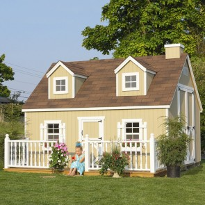 Cape Cod 10 x 12 Playhouse