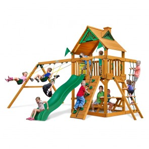 Chateau Swing Set