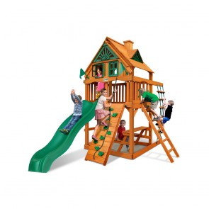 Chateau Tower Treehouse Swing Set