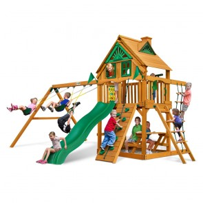 Chateau Treehouse Swing Set