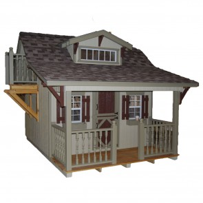 The Craftsman 11 x 10 Playhouse