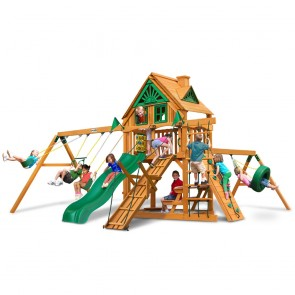 Frontier Treehouse Swing Set