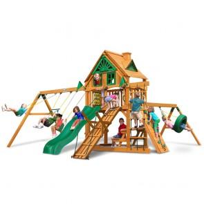 Frontier Treehouse Swing Set