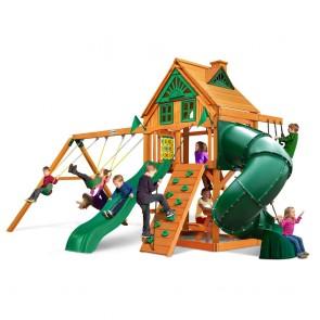 Mountaineer Treehouse Swing Set