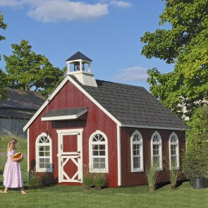 Stratford Schoolhouse 8 x 10 Playhouse