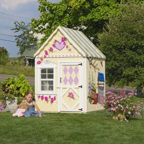 Sweetbriar 4 x 4 Playhouse