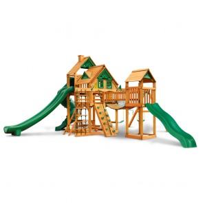 Treasure Trove II Treehouse with Amber Post