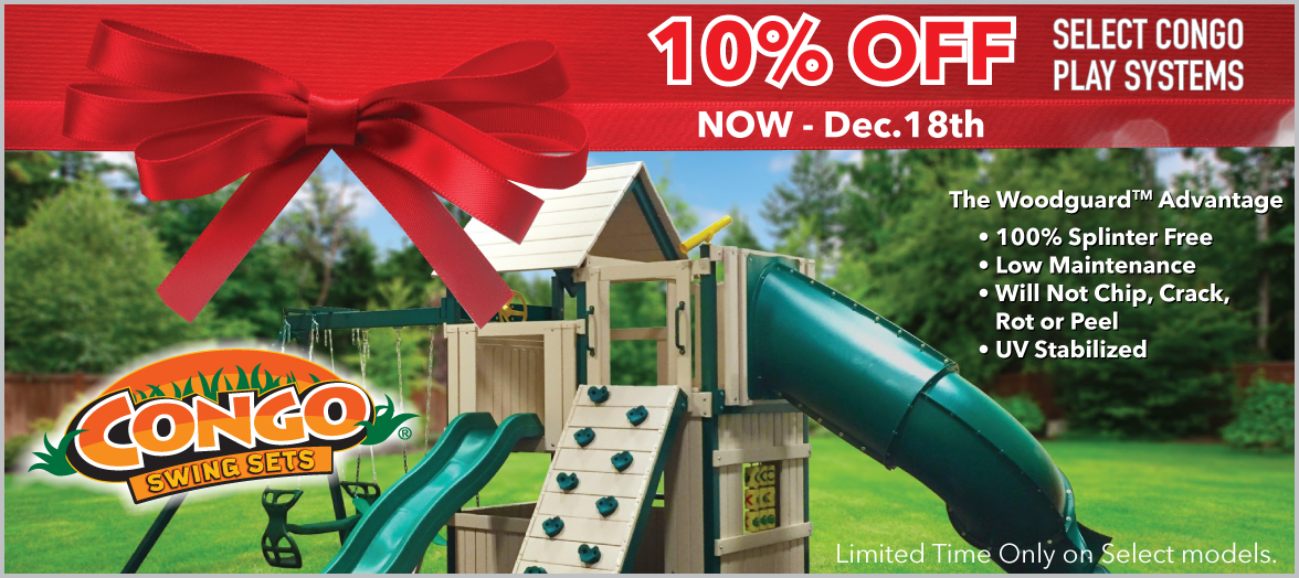 10% Off Congo Playsets